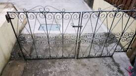 Galvanised Steel driveway Gates