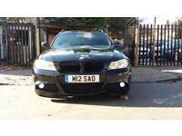 2009 BMW 320D M SPORT ESTATE IN BLACK ++ HPI CLEAR ++ 2 KEYS ++ FSH ++ LOOKS AWESOME ++ LCI FACELIFT