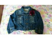 Newlook denim jacket size 14-16