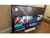 SONY BRAVIA 55-inch ANDROID ULTRA SLIM 4K HDR Smart LED TV-55XD005,built in Wifi,Freeview & YOUVIEW
