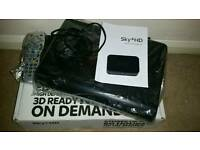 Sky + HD Box Comes Boxed With Power Lead, Remote & Wireless Connector