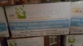 Brick slips,top quality wetherby brand,ideal for internal and external projects.