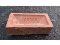 100 Red Bricks available