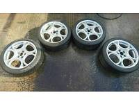Alfa Romeo Guilietta 18inch alloys and tyres