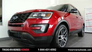 2016 Ford Explorer Sport AWD mags toit panoramique