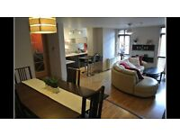 SHORT TERM LET: large luxurious, fully furnished 2 bed flat, all bills included with parking