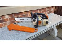 Stihl MS200t Petrol chainsaw Top handle