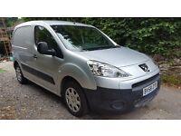 Peugeot Partner 1.6 diesel, silver, 12 months MOT, parking sensors