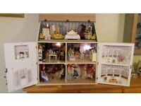 Dolls House including contents