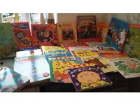 Over 35 kids books ideal for 2-5 years including Fireman Sam, Noddy, Cars, Peppa pig
