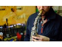 Saxophone lessons - Manchester