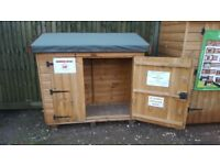 5ft x 2ft Storage Box Pent Garden Shed £195 Inc Delivery Installation Ex Display Model 0161 962 9127