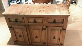 Mexican pine sideboard hand made