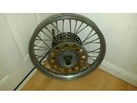 """Motocross 19 """" rear wheel"""
