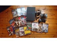 Sony Playstation 2 ( PS2) plus 14 games and 2 controllers
