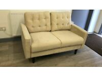DECENT UK NUM ONE SELLING BRAND = # = 2 SEATER PURE PLUSH MAZZ SOFA SET = DELIVERY FREE