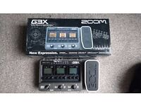 Zoom G3X Effects and Amp Simulator Pedal
