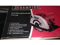 Electric circular saw