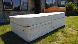 Large Single Bed with Drawers (Queen Size?) - Offers Welcome - Local Delivery Possible