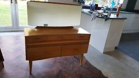 1960's DRESSING TABLE