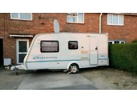 2006 Bailey Discovery 100 with motor mover an awning Cris registered 4 berth caravan