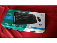 Logitech wireles keyboard and mouse