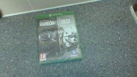 Tom clancy's Rain bow six seige Xbox one