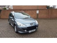 2006 AUTOMATIC PEUGEOT 307 7 SEATER NEW SHAPE IN SOUTH EAST LONDON