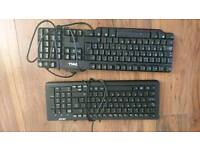 2 x USB keyboards