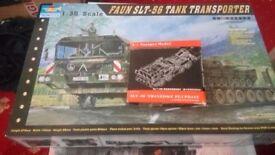 1/35 scale tank transporter