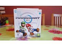 Nintendo Wii Mario Kart (Includes Game and Wheel) (No Remote)