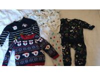 Boys Christmas clothes bundle
