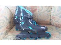 Roller skates uk size 4/5 Appollo 106