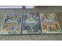 The sims 3 expansion packs for pc