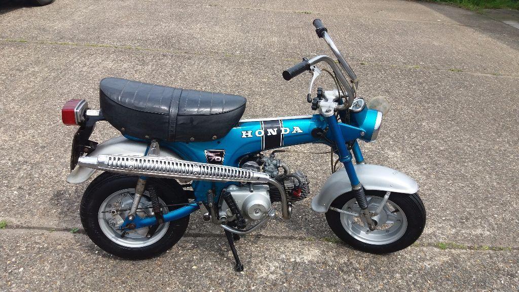 honda st70 dax monkey bike in nuneaton warwickshire. Black Bedroom Furniture Sets. Home Design Ideas