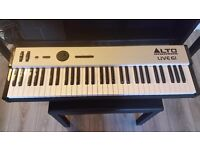 Alto Live 61 Professional Keyboard Controller