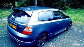 Honda Civic Type-S Sport. 1.6 V-Tec. Type R Replica. 2005