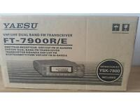 Yaesu FT-7900 Dual Band 2m & 70cms Transceiver Complete With Separation Kit. Ham Amateur Radio
