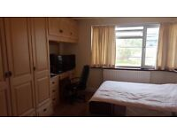 Extra Large Double Room in a 4 bed House £590 pm All bills inclusive.