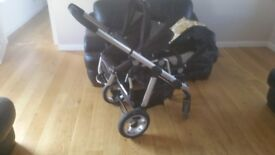 ICANDY PEAR TWIN CARRYCOTS & STROLLERS
