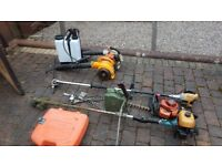 Garden Equipment..Strimmer..Hedge cutter and more