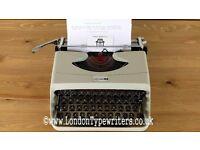 Working Underwood 18 Manual Typewriter - New Ribbon, Case - London Typewriters
