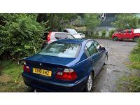 BMW 3 1.8 Blue Saloon