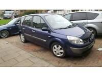 2004 Renault scenic 1.6 mot Feb 18