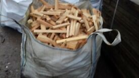 kindling firewood