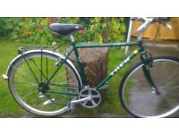GENTS TREK HYBRID BIKE WITH RACK £40 ONLY NO OFFERS THROSK