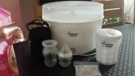 Tommeetippee electric steriliser