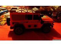 Kids toy jeep