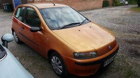 Fiat Punto Active Sport 1.2 for sale £500 reduced for quick sale!