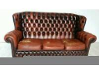 High Back Chesterfield 3 Seater Sofa 001
